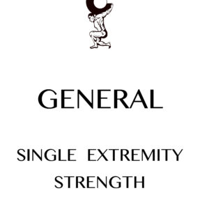 Microsoft Word - Single Extremity Strength.docx